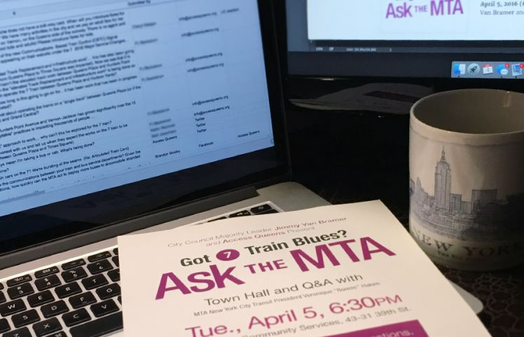 Attend the #AskTheMTA Town Hall, April 5